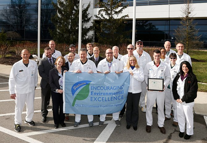 Honda R&D Americas Earns Ohio EPA's Platinum Environmental Stewardship Award